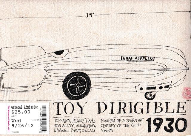 Victoria Behm, 'Toy Dirigible', 2012, 440 Gallery