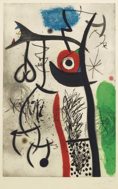 Joan Miró, 'L'Etrangle', 1974, Christie's