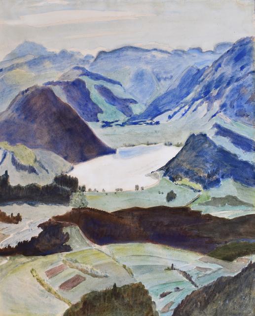 , 'Lake between Mountains, Kärnte | See zwischen Bergen (Kärnten),' 1941, Gilden's Art Gallery