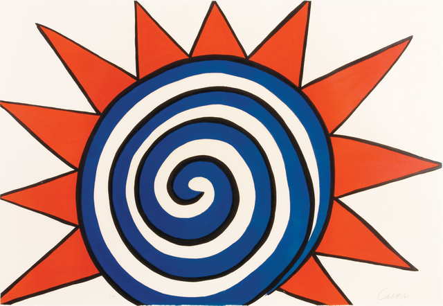 Alexander Calder, 'Les Etoiles (Red, White and Blue Sun)', 20th Century, Findlay Galleries