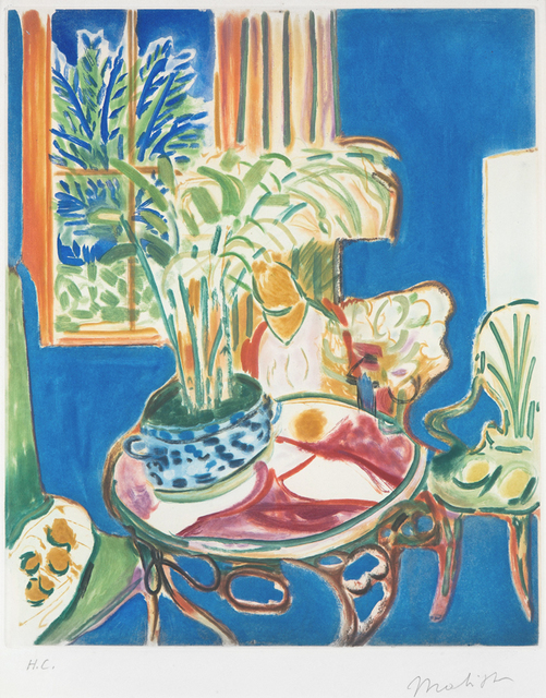 , 'Petit Interieur Bleu (Little Blue Interior),' 1952, Masterworks Fine Art