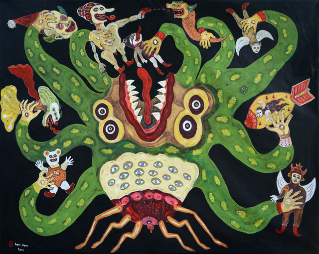 Heri Dono, 'Octopusation,' 2012, Rossi & Rossi