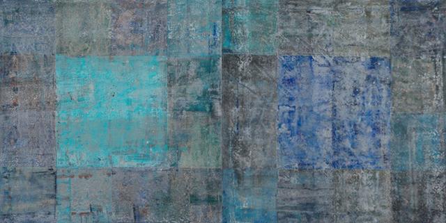 Michael Quadland, 'Blue Grids', Stanek Gallery