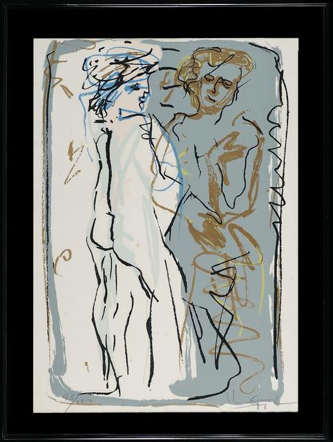 Iberê Camargo, 'Untitled', 1986, LAART