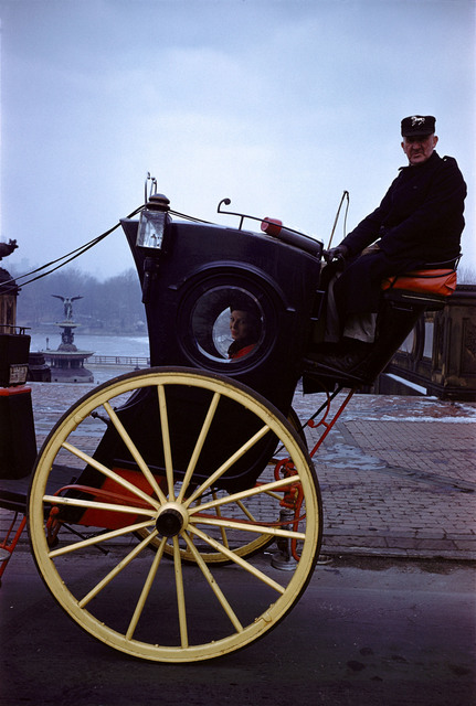 , 'Carriage in central Park, New York,,' 1958, °CLAIR Galerie