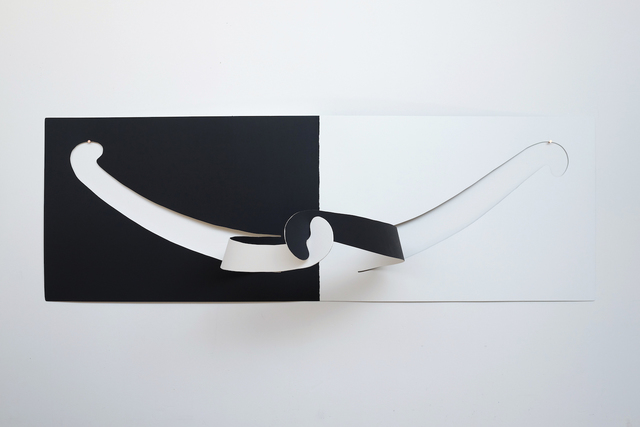 , 'Hug (Simply White and Universal Black),' 2018, Gallery 16