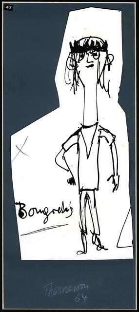 , 'Bougrelas, Ubu Roi,' 1964, Richard Saltoun