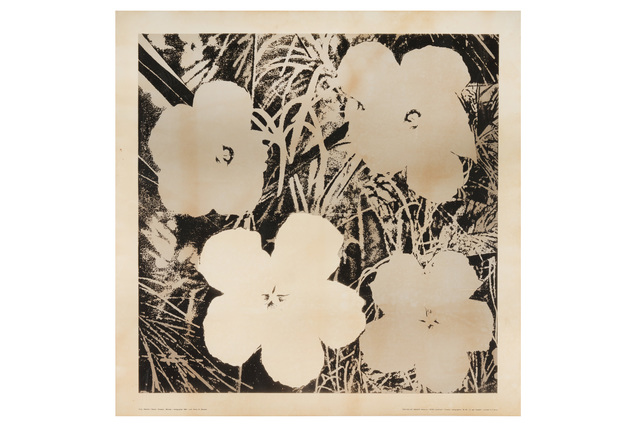 Andy Warhol, 'Flowers', 1964, Chiswick Auctions