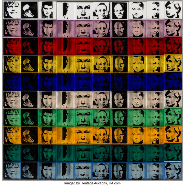 Andy Warhol, 'Portraits of the Artist, from Ten from Leo Castelli', 1967, Heritage Auctions