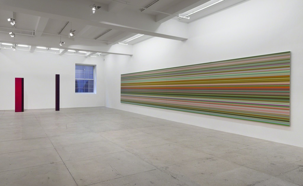Sol LeWitt, John McCracken, Gerhard Richter, Fred Sandback, Anne Truitt, Lawrence Weiner