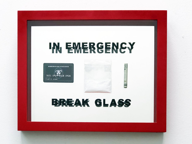 , 'In Emergency Break Glass,' 2018, Wallspace