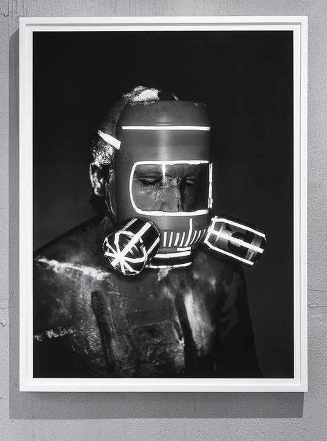 , 'Mask #2,' 2018, Klowden Mann