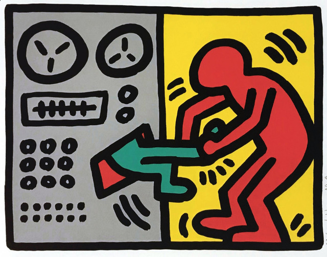 Keith Haring, 'Pop Shop III', 1989, Georgetown Frame Shoppe