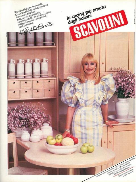 , 'Pubblicità Scavolini,' 1986, Triennale Design Museum