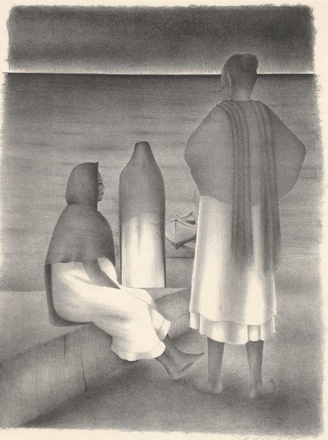 , 'La Espera (Waiting Women in Mexico),' ca. 1940, Stone + Press Gallery