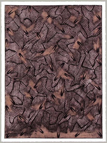 , 'Ecriture Series I,' 1994, Galerie Bhak