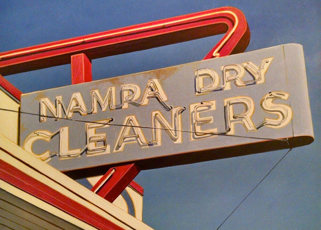 , 'Nampa Dry Cleaner,' 2017, Sue Greenwood Fine Art