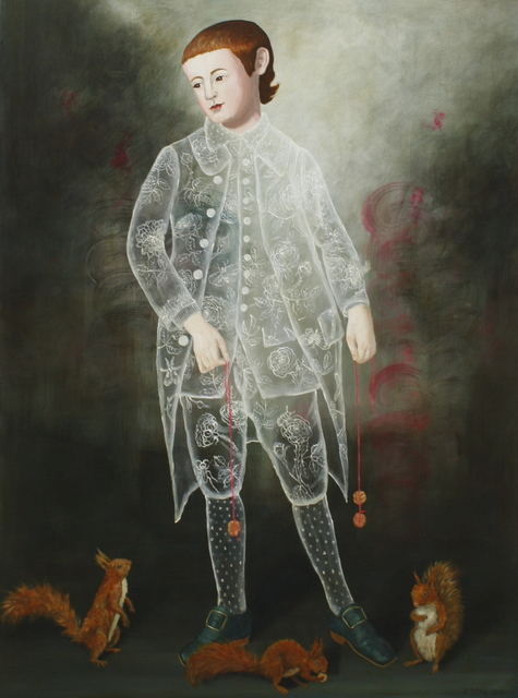 Anne Siems, 'Three Squirrel Boy', 2016, Patricia Rovzar Gallery