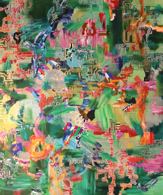 Yuni Lee, 'Component Anima', 2015, Painting, Mixed media on canvas, Ro2 Art