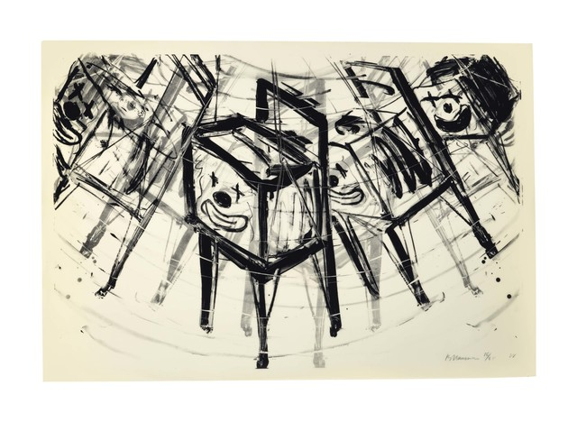 Bruce Nauman, 'TV Clown', 1988, Christie's