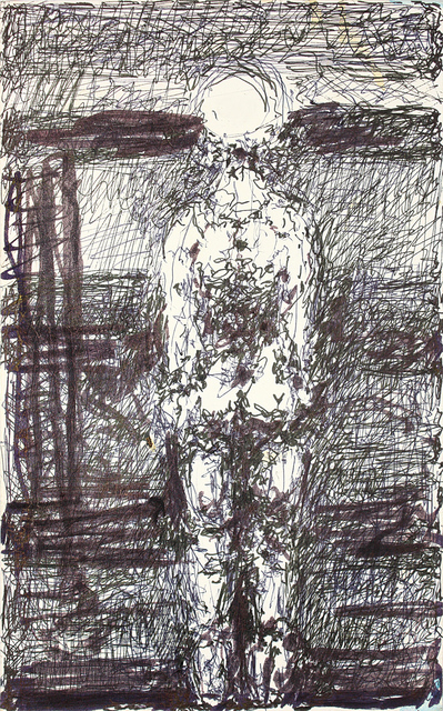 , 'untitled (figure drawing),' , christian berst art brut