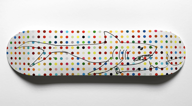 Damien Hirst, 'Shark Deck ', 2011, Oliver Clatworthy