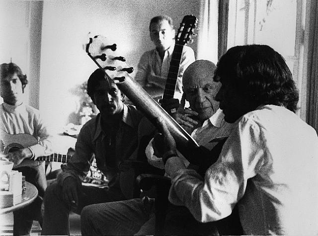 , 'Picasso et Manitas de Plata à Notre-Dame de Vie, Mougines,' 1968, Bernheimer Fine Art