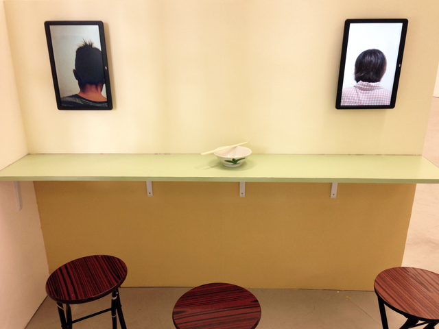 , 'Eating Alone,' 2014, 10 Chancery Lane Gallery
