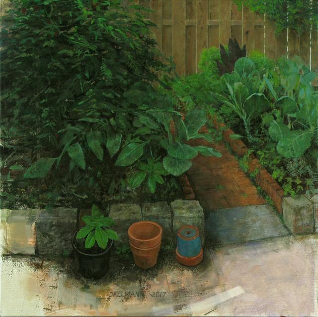, 'Courtyard Garden,' 2017, Cerulean Arts