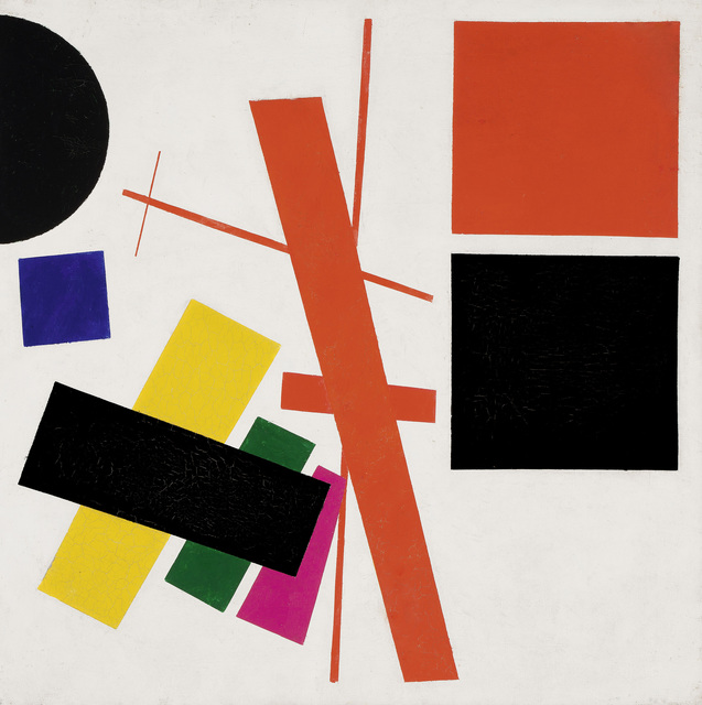 Kasimir Severinovich Malevich, 'Suprematism: Non-Objective Composition', 1915, Fondation Beyeler