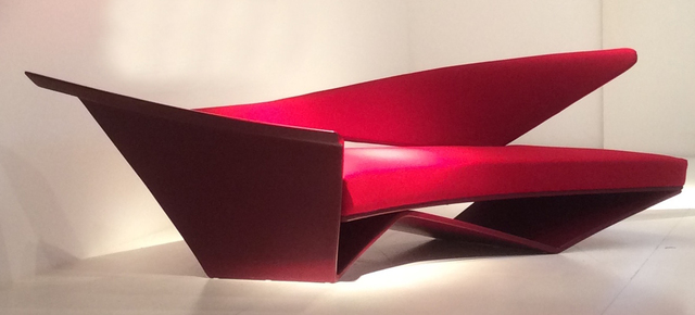 , ''Project in Red' - Sofa,' 1988, ammann//gallery