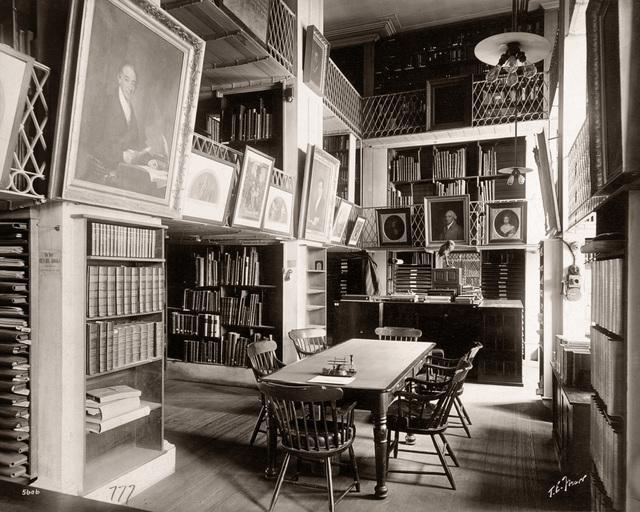 , 'Boston Athenaeum Interior,' ca. 1901, Panopticon Gallery
