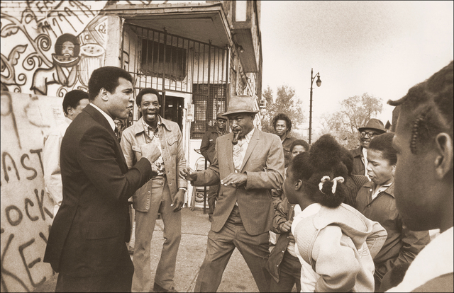 Michael Gaffney, 'Muhammad Ali with his Fans (Detroit, MI)', ca. 1977, Richard Beavers Gallery