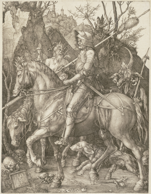 , 'Ritter, Tod und Teufel (Knight, Death and Devil),' 1513, Seattle Art Museum