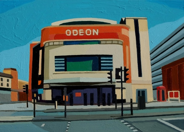 , 'London Odeon,' 2016, Cynthia Corbett Gallery