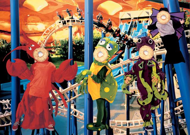 , 'Bluepoles,' 2000, Gagosian