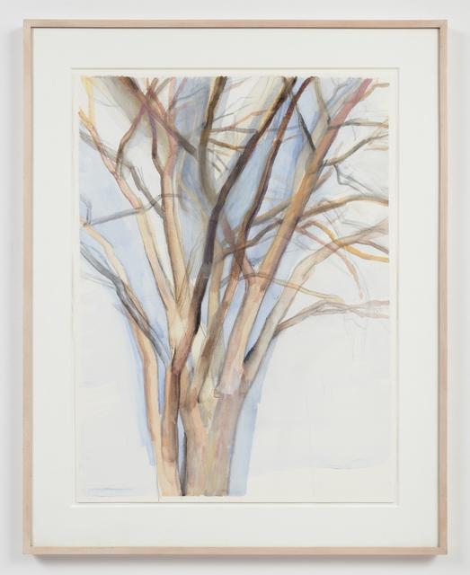 Sylvia Plimack Mangold, 'Untitled (3/18/92)', 1992, Alexander and Bonin