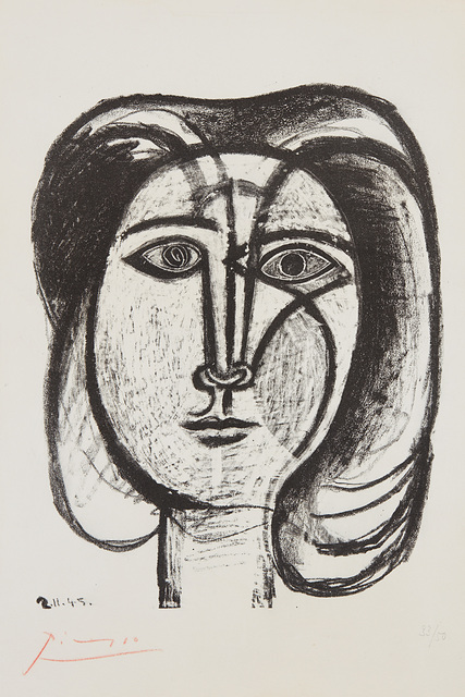 Pablo Picasso, 'Tête de femme (Head of a Woman)', 1945, Phillips