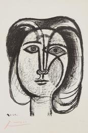 Tête de femme (Head of a Woman)
