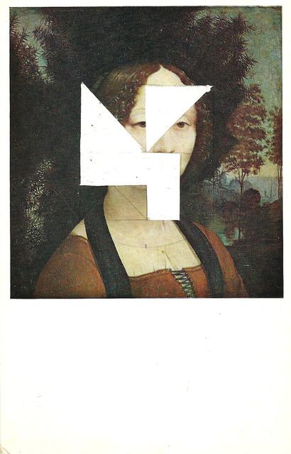 , 'Estudio para permutaciones - postal retratos (mujer),' 2015, Arredondo \ Arozarena
