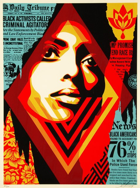 Shepard Fairey, 'Bias by Numbers', 2017, Heritage Auctions