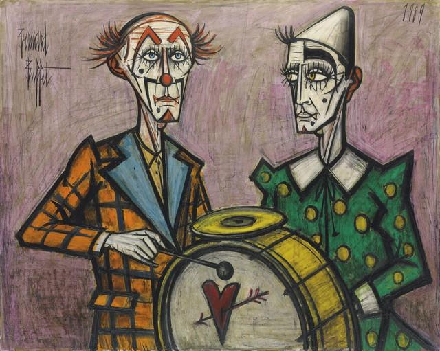 , 'Deux clowns à la grosse caisse,' 1989, Opera Gallery