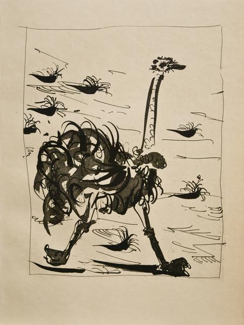 Pablo Picasso, ' La Otruche (L'Autruche) (The  Ostrich)', 1936, John Szoke
