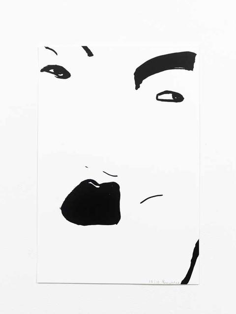 , 'Black Ink #2,' 2017, Willas Contemporary