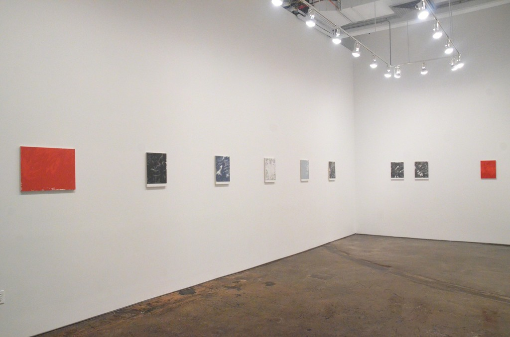 Installation view of Michael Brennan: Late Spring, MINUS SPACE, Brooklyn, NY, 2018
