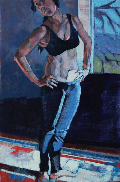 , 'Standing in low Light,' , Bowersock Gallery