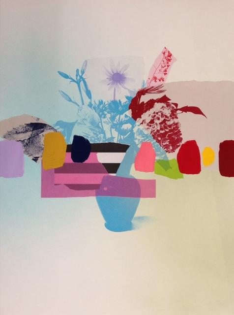 , 'Paper bouquet (blue + red hydrangea),' 2017, Rebecca Hossack Art Gallery