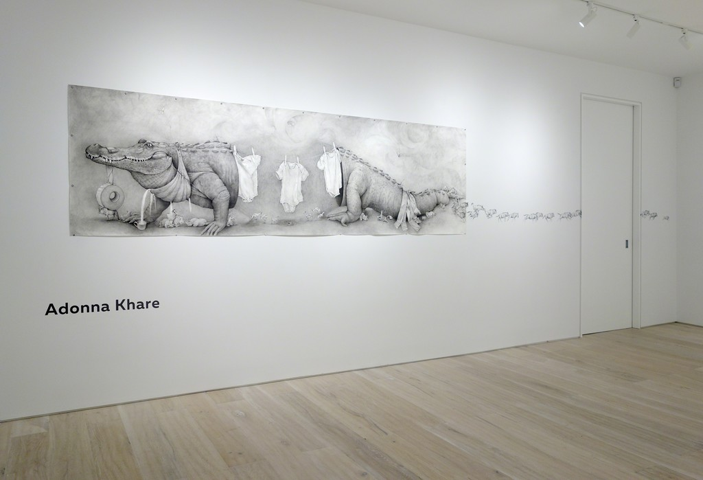 Adonna Khare - Installation view