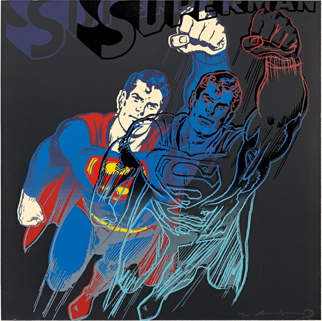 Andy Warhol, 'Superman II.260', 1981, OSME Fine Art