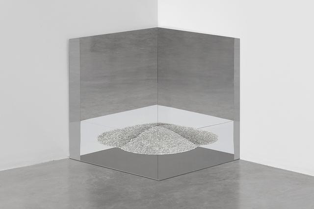 , 'untitled 2018 (1.5 kilos of rice) (one),' 2018, kurimanzutto